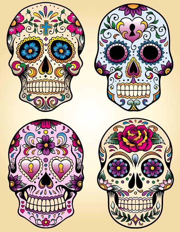 Calavera Ou Tte De Mort Mexicaine Mmamnali Crations Bio