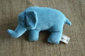 Eléphant bleu bio