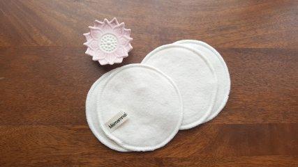 Lingettes rondes coton bio