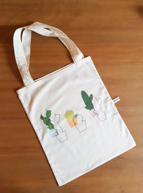 Tote bag coton bio designer