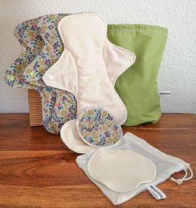 kit zéro déchet maternité