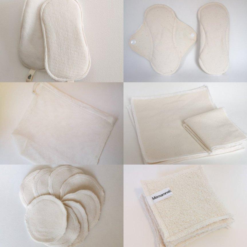 zéro déchet en coton bio